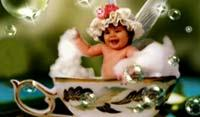 baby in a cup - baby in a cup