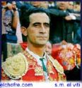 El Viti - Photo of El Viti, Spanish bullfighter in the 1960's) dressed in his suit of lights.