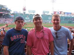 Fenway - Last summer, we got to take in a game at Fenway. What an excellent experience!