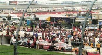 NASCAR - Qualifying @ Texas Motor Speedway.