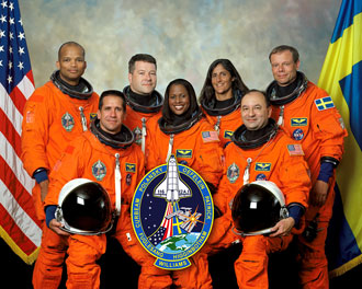 Astronauts - Astronauts aboard the space shuttle that lifted off Dec 9, 2006 for the International Space Station.