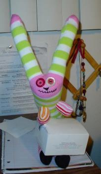 Bunny  - Bunny made out of socks.