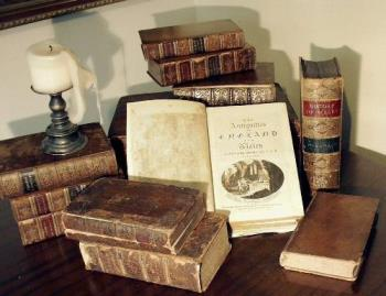 books - a picture of a collection of books