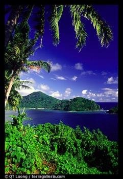 Masefau Bay. Tutuila, American Samoa  - With no continuous road along the coast, which in places is very rugged, the North of Tuitula island is its less developed part. It is reached by windy roads which go through steep passes with superb views.
