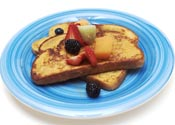french toast - french toast with syrup