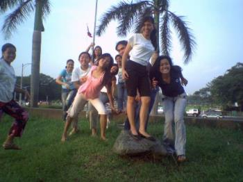 mah friends - i was with my friends in luneta