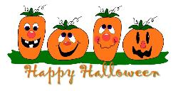 Happy Halloween - pumkin