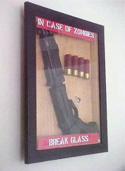 in case of zombies... - in case of zombies...