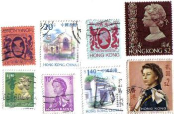 stamps - hong kong