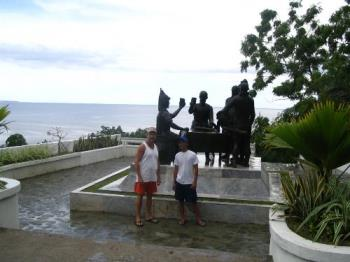 Blood Compact on Bohol (Philippines) - We spent a few days on Bohol.