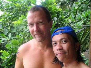 Big Bear and Lil Bear - enjoying some time at Puerto Galera together and with friends...