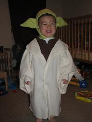 yoda - boogs second halloween