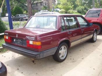 Volvo - 1989 Volvo 740 Turbo. This car is loaded and I love to drive it. Of course, the turbo causes it to use a lot more gas than a non-turbo model but I love to have that option available.
