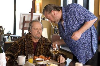 Jack Nicholson - Crime boss Frank Costello (Jack Nicholson) in the Departed