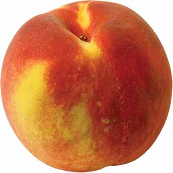 peach - this is a frit which contain acidic matter which will endose ur muscular content to  alrger quantity