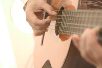 guitar - playing guitar