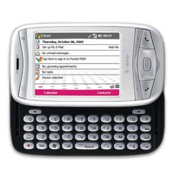 Tmobile MDA - Information GPRS/EDGE and Wi-Fi enabled*  HTML web browser  Pocket versions of popular Office programs