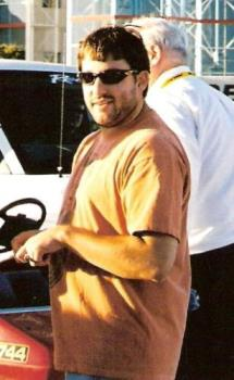 Tony - Picture I took of Tony Stewart at Texas MotorSpeedway in November 2005.