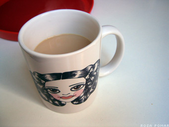 coffee with milk  - coffee with milk