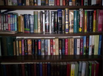 Books - This is just one of my bookcases.