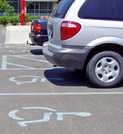 Handicapped Parking Zone - Handicapped Parking Zone