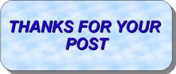 Thanks for the Post. - Oh, then you r satisfied, Great.  Thanks for the post.