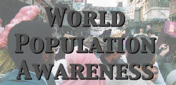 over population - increasing population leads to many of the probs in the world