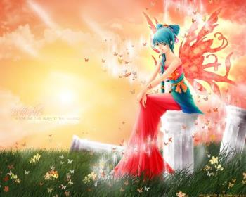 ok,, im your fairy, turn this guy in to a girl!!!! - hehheh... good luck.