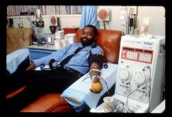 Donating Blood - Photo Credit: NIH