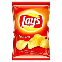 Chips - I love eating lays chips of cheese flavor