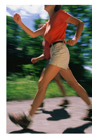 brisk walking - Walking is better for me. But it should be brisk .it is easy, aerobic, a good muscle toner too.