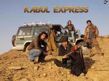 kabul Express - This is a cool still from the movie kabul Express
