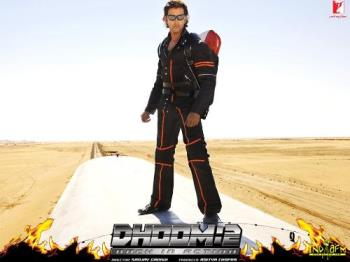 HRithik in Dhoom 2 - Hrithik in Dhoom 2