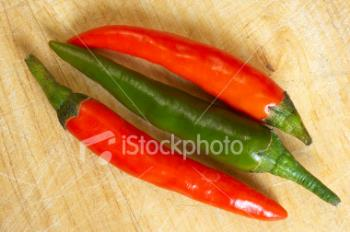 Chlly - Red and green chillies