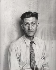J. R. Butler, President of Southern Tenant Farmers - a photo by Dorothea Lange 