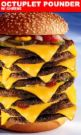 cheeseburger, The real deal - picture of a 8 stack cheese burger