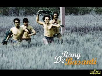 rang de basanthi - the fire is on