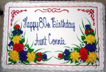 fancy birthday cake - fancy cake