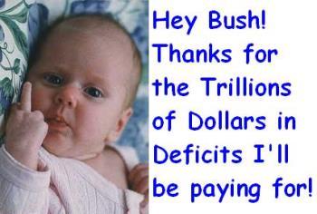 Baby - Baby fingering bush