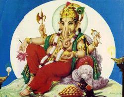 lord ganesha - the first god hindus worship