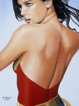 Wonder Woman - This is a painting I did of Wonder Woman. See more of my art at