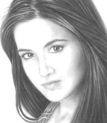 my art - the picture was drawn with a set of pencils of differt darkness....and the gloss was given with adobe.....