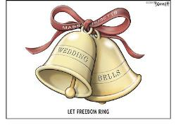 Wedding Bells - No tax on marriage!