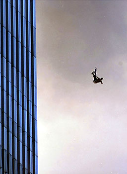 Express ur feelings at that instant....if u were o - a man falling from WTC building!!!!