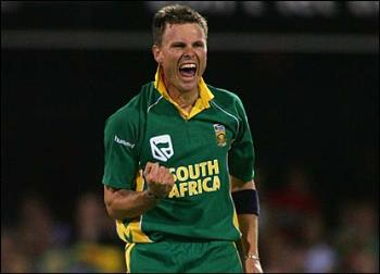 botha - south africa player after claiming a wicket