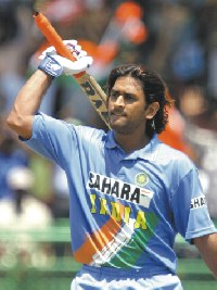 dhoni the world record holder - will he shine in world cup 2007