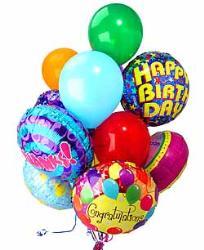 happy birthday - birthday balloons
