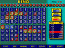 Keno - pick up to ten numbers and try to hit all of them for the big jackpot