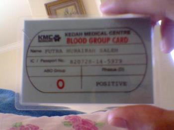 blood group - blood group