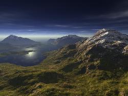 mountains - pic of beautiful mountain
